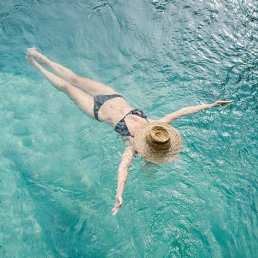 Soak up the country's most sought-after rays in a pool that's both sexy and serene.
